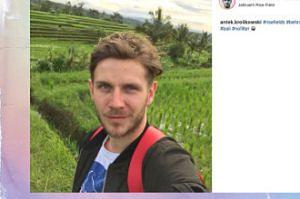 Antoni Królikowski zbiera ryż na Bali?
