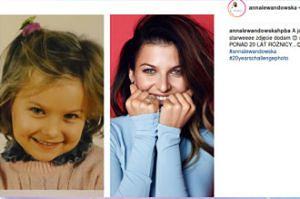 Ania Lewandowska po 20 latach