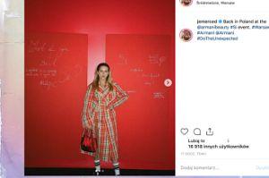 Stylowa Jessica Mercedes promuje luksusowe perfumy