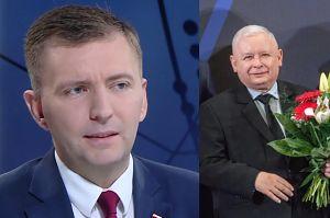 """Łukasz Schrebier składa życzenia Jarosławowi Kaczyńskiemu: """"Szóstego z rzędu zwycięstwa"""""""