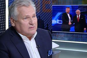 """Aleksander Kwaśniewski poda rękę Jarosławowi Kaczyńskiemu? """"To nie jest obowiązek"""""""