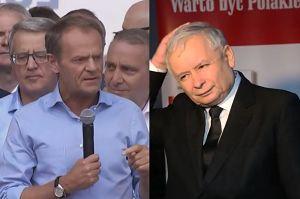 """Donald Tusk atakuje PiS. """"Gwałcili konstytucję, niszczyli polskie sądy"""""""
