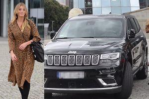 Wzorzysta Zawadzka wsiada do Jeepa za ponad 300 tysięcy złotych