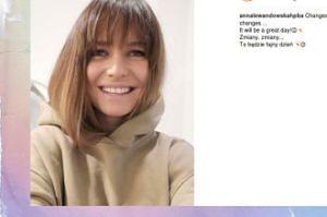 Ania Lewandowska zmieniła fryzurę