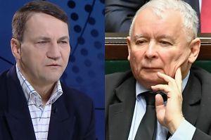 """Sikorski: """"Kaczyński próbuje nastraszyć homoseksualistami społeczeństwo"""""""