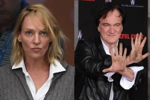 """Uma Thurman oskarża Tarantino: """"Próbował mnie zabić!"""""""