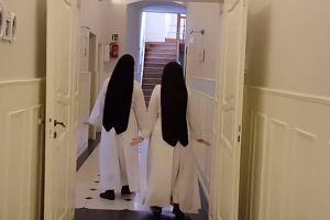HIT SIECI: zakonnice z Broniszewic świętują Dzień Pingwina (WIDEO)