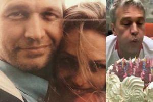 """Szczera żona Żebrowskiego świętuje jego urodziny: """"Jeszcze kilka lat temu wyglądaliśmy jak OJCIEC Z CÓRKĄ"""""""