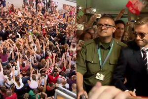 Tysiące kibiców witają reprezentację Polski na lotnisku!