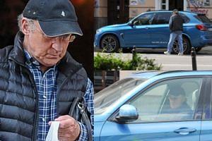 71-letni Piotr Fronczewski kupuje słodkości u Gessler i odjeżdża nowym BMW (ZDJĘCIA)