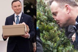 """Andrzej Duda złożył życzenia na Twitterze: """"Nadchodzący rok niech będzie czasem starań dla ojczyzny"""""""