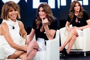 Caitlyn Jenner i Halle Berry razem na konferencji (FOTO)