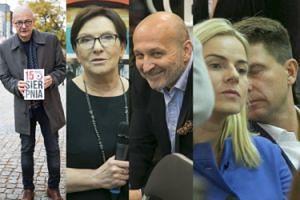 Kopacz, Marcinkiewicz, zakochani Petru i Schmidt na premierze książki Kamińskiego (ZDJĘCIA)