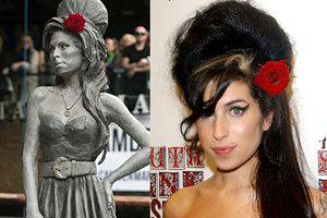 W Londynie stanął pomnik Amy Winehouse! (ZDJĘCIA)