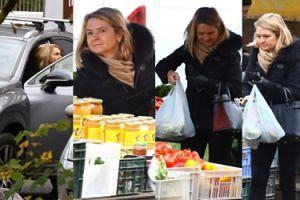 Żona Tuska podjeżdża na bazar Lexusem i robi zakupy z torebką za 7 TYSIĘCY (ZDJĘCIA)