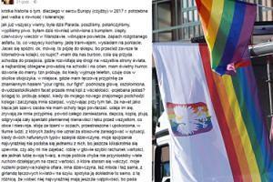 """Kobieta zaatakowana po Paradzie Równości: """"POJE*ANA JESTEŚ?! Zaczynają mnie szarpać, depczą, kopią, plują""""..."""