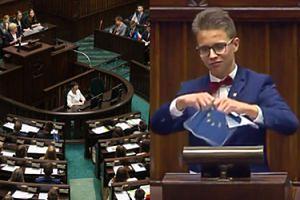 """Sejm Dzieci i Młodzieży: """"Precz z komuną! UNIA EUROPEJSKA POWINNA ZOSTAĆ ZNISZCZONA!"""""""