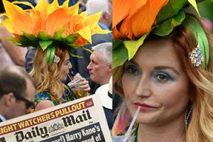 Polka z ogromnym słonecznikiem na głowie zrobiła furorę na Royal Ascot! (ZDJĘCIA)