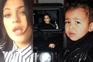 Kardashianki miały wypadek samochodowy! Razem z małą North...