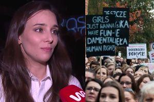 """Czartoryska-Niemczycka o solidarności kobiet: """"Są samotne wilczyce, które wolą stać z boku"""""""