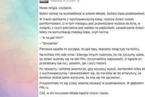 """Szkoły pod przymusem wysyłają na """"Smoleńsk""""?"""