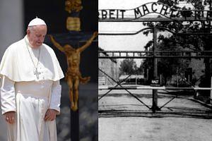 """Papież Franciszek: """"Dlaczego alianci nie bombardowali torów kolejowych do Auschwitz?"""""""