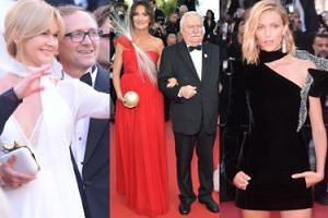 Polacy na czerwonym dywanie w Cannes! Lech Wałęsa, Dominika Kulczyk, Anja Rubik, Krystyna Janda... (ZDJĘCIA)