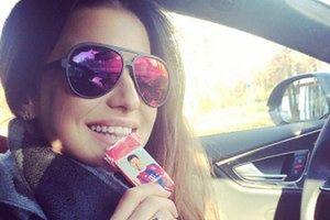 Lewandowska chwali się czekoladką z Robertem (FOTO)