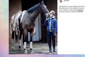 Pola Lis żegna ukochanego konia