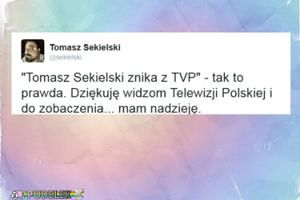 Sekielski potwierdza odejście z TVP