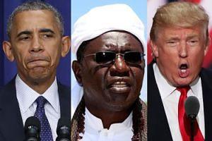 """Przyrodni brat Obamy będzie głosował na... Trumpa! """"Mówi prosto z serca"""""""
