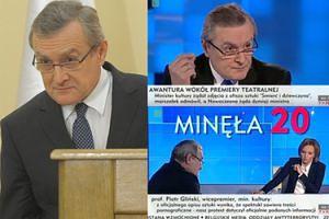 """Dziennikarka TVP ZOSTAŁA ZAWIESZONA po wywiadzie z Glińskim! """"Wasza stacja UPRAWIA PROPAGANDĘ"""""""