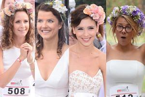 Bieg w sukniach ślubnych: Mrozowska, Wierzbicka i Jabłczyńska (ZDJĘCIA)