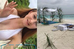 """Angelika Mucha spełnia swoje TRZECIE NAJWIĘKSZE MARZENIE: """"Jestem na Malediwach! Justin był tu tydzień temu!"""""""