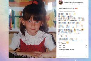 """""""Mała"""" Ania pokazała zdjęcie, na którym jest mała"""