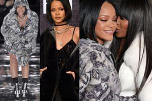 Rihanna promuje swoją kolekcję ubrań w Nowym Jorku! (ZDJĘCIA)