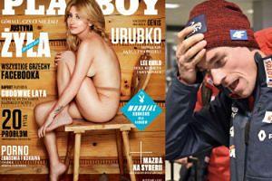 """Justyna Żyła na okładce """"Playboy'a""""! """"Góralu, czy ci nie żal?"""""""