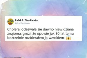 """Rafał Ziemkiewicz po aferach z molestowaniem: """"Odezwała się dawno niewidziana znajoma"""""""