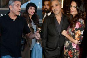"""George i Amal Clooney skorzystali z in vitro. """"Ich bliźnięta przyjdą na świat w czerwcu"""""""