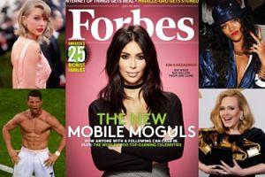 """Najlepiej zarabiające gwiazdy świata według """"Forbesa"""": Swift, Ronaldo, Adele, Rihanna... (ZDJĘCIA)"""