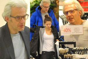 Hubert Urbański z córką na zakupach... Poznajecie? (ZDJĘCIA)