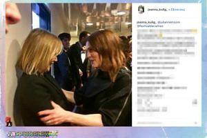"Julianne Moore gratuluje Joannie Kulig roli w ""Zimnej wojnie"""