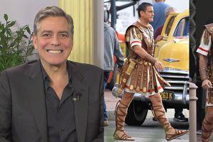 """Clooney o roli Cezara: """"Ćwiczyłem długość spódnicy. Zapytałem żony, jak długa powinna być!"""""""
