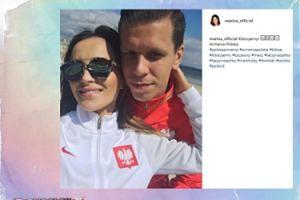 Marina kibicuje na Instagramie
