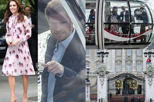 """Książe Harry zwiedzając Londyńskie Oko: """"O, stąd widać dom babci!"""""""