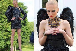 Piszczałka jako czarny anioł w nowej kampanii! (ZDJĘCIA)
