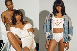 Naomi Campbell i A$AP Rocky pozują razem (ZDJĘCIA)