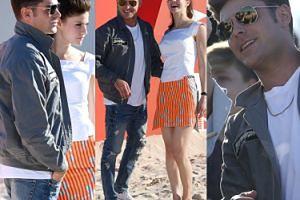 """Zac Efron promuje nowy """"Słoneczny patrol"""" na plaży w Sydney (ZDJĘCIA)"""