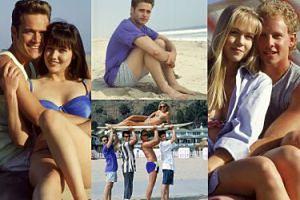 """Pierwsza sesja zdjęciowa """"Beverly Hills, 90210""""! Pamiętacie?"""