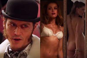 NAGA Amber Heard w zwiastunie nowego filmu... z Johnnym Deppem!